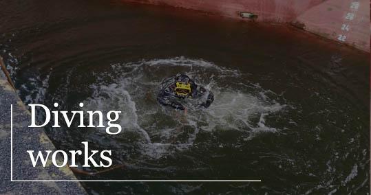 diving works ship service szczecin