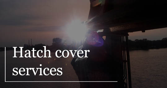 hatch cover ship service