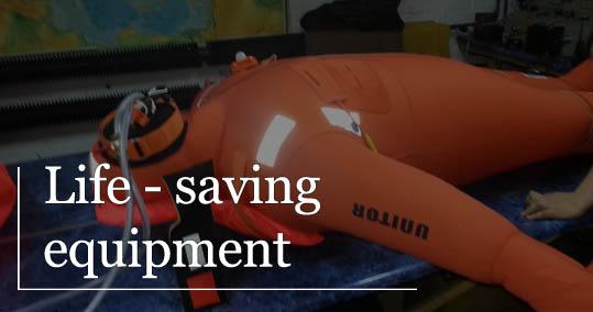 life saving equipment ship service