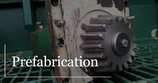 prefabrication ship service